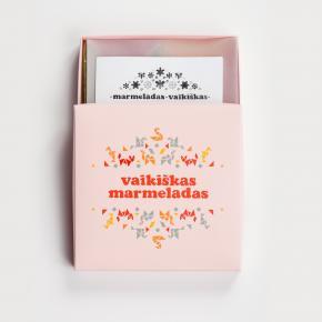 """""""Vaikiškas marmeladas"""" (maisto dizaino studija """"Less table""""). K. Milaševičiaus nuotrauka"""