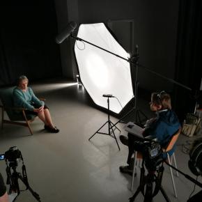 """Dizaino fondo interviu"" su B. Adomoniene 2017 m."